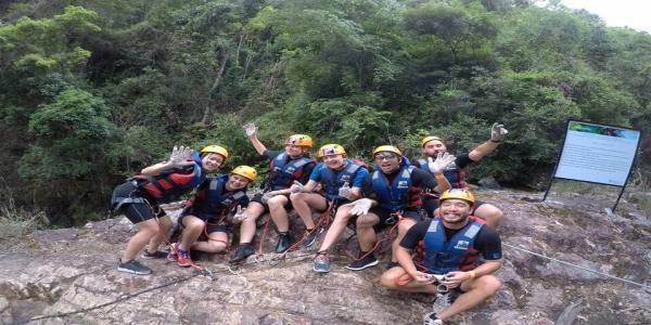 Good experiences at Dalat Canyoning
