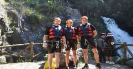 Dalat canyoning – A very attractive tour of crossing canyons and abseiling