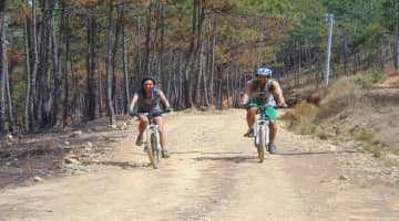 Dalat Biking to the Elephant waterfall