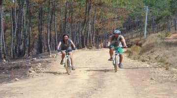 Dalat Biking to the Elephant waterfall