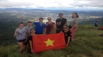 Hike and bike to Langbian mountain