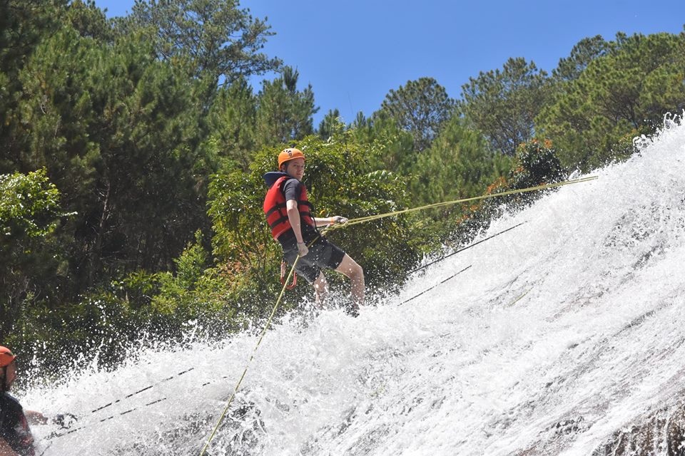 Canyoning Dalat-an adventurous journey full of experience