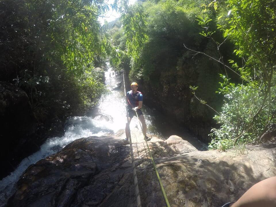 Canyoning - adventure game in Dalat