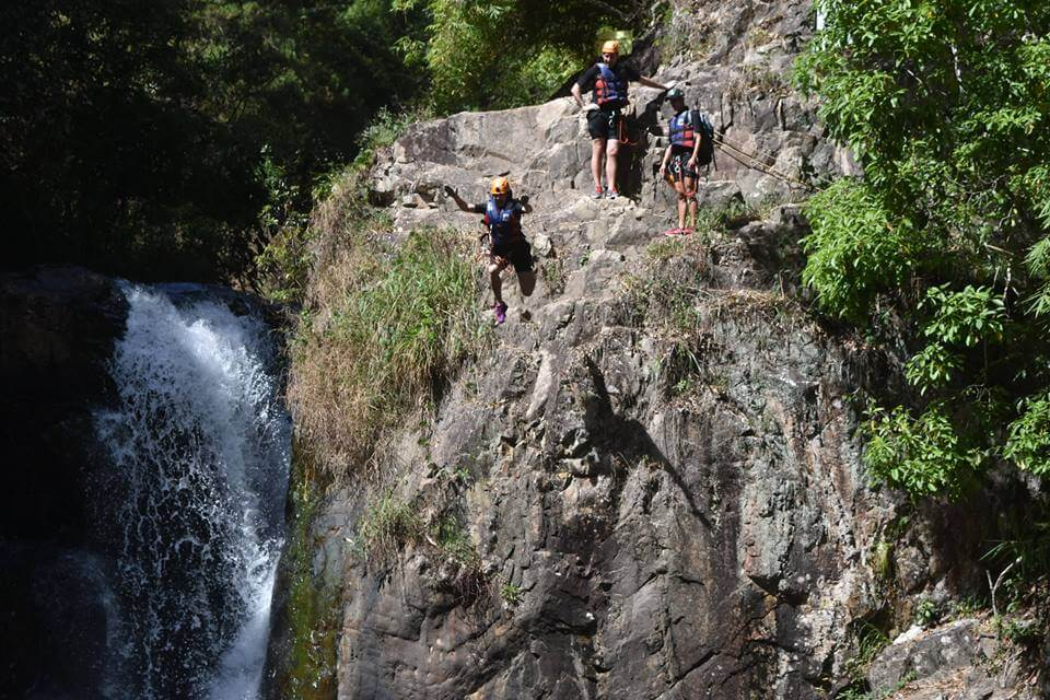 Canyoning at the Datanla Waterfalls in Dalat
