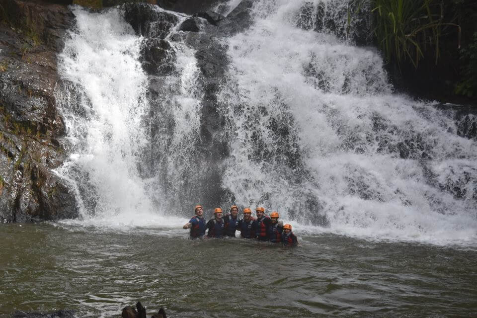 Canyoning attracts a large number of tourists