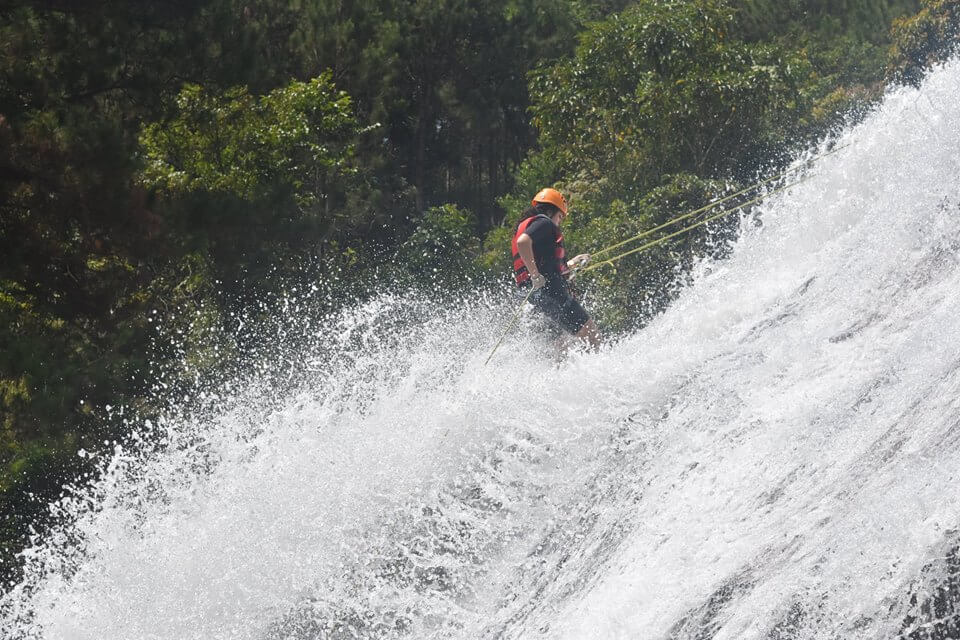 Canyon: make the most of sensations in canyoning Atanla