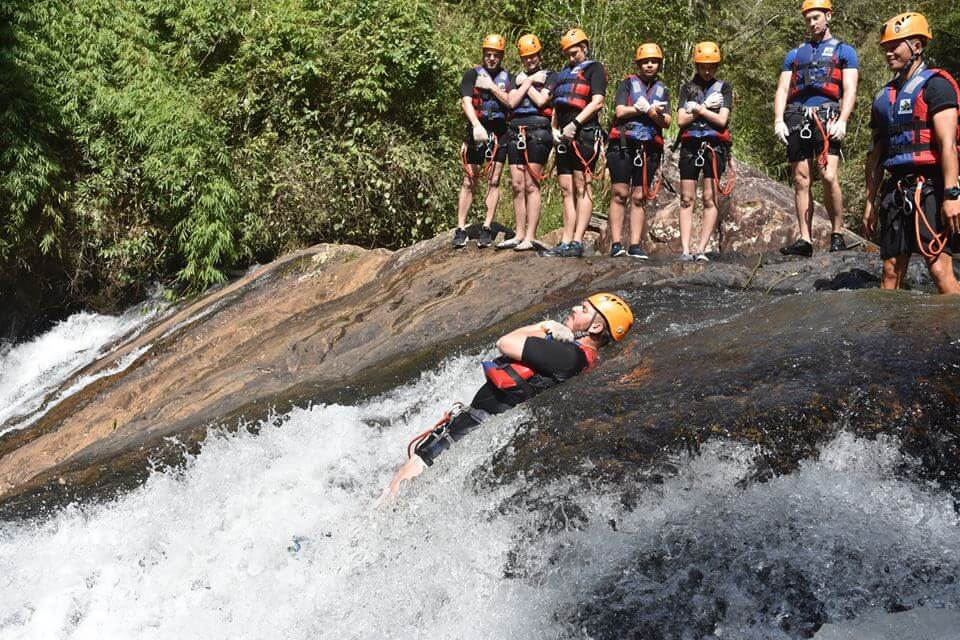 Feel each of your emotions through Canyoning