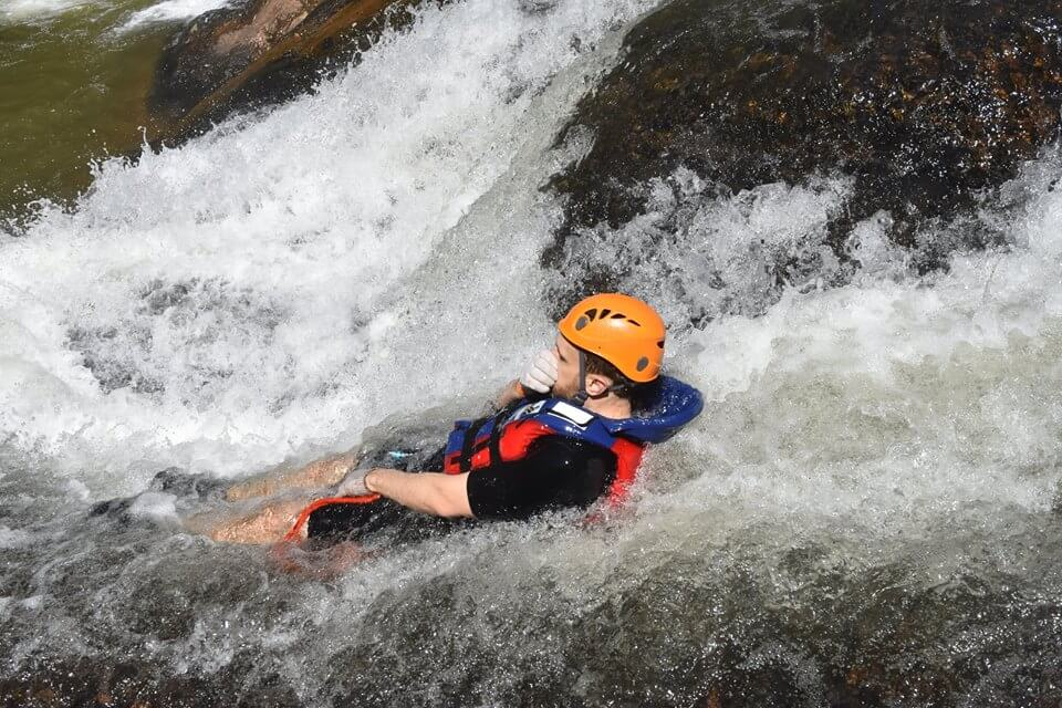 Good health - the first condition to join canyoning
