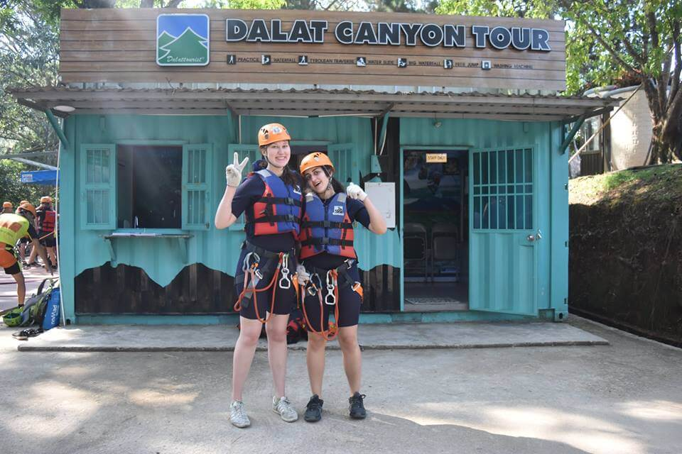 Guests are guaranteed safety when participating in Canyoning tour