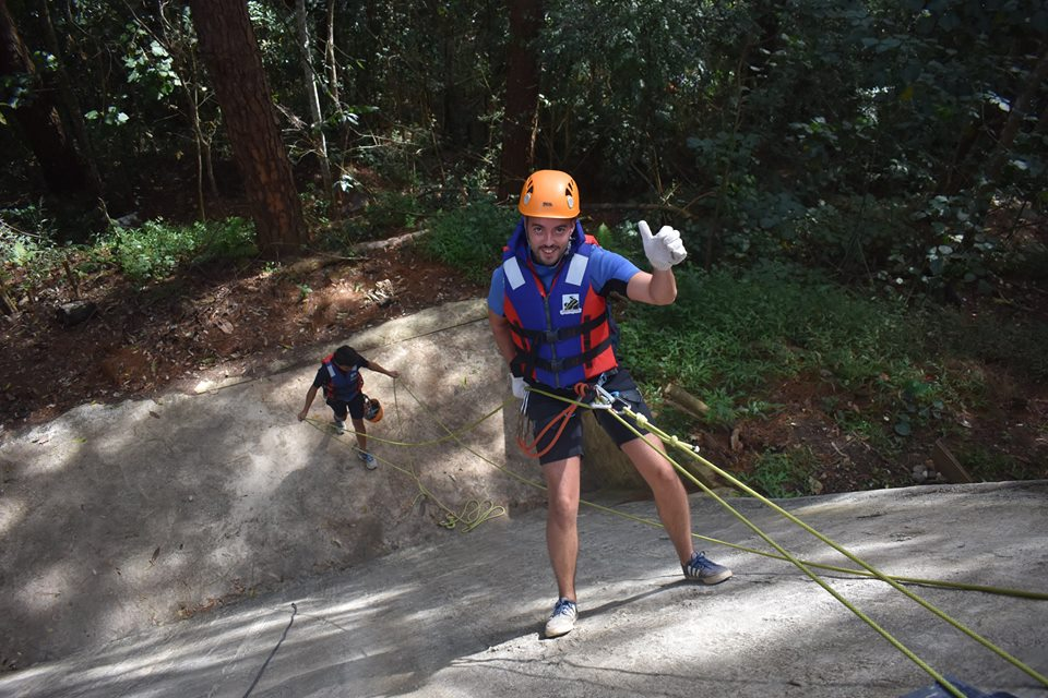 Canyoning dalat in the countryside