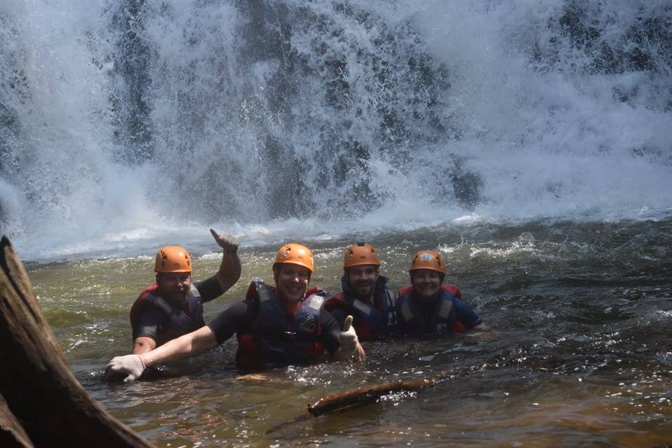 Tourists who love challenging and adventurous do not miss Dalat Canyoning