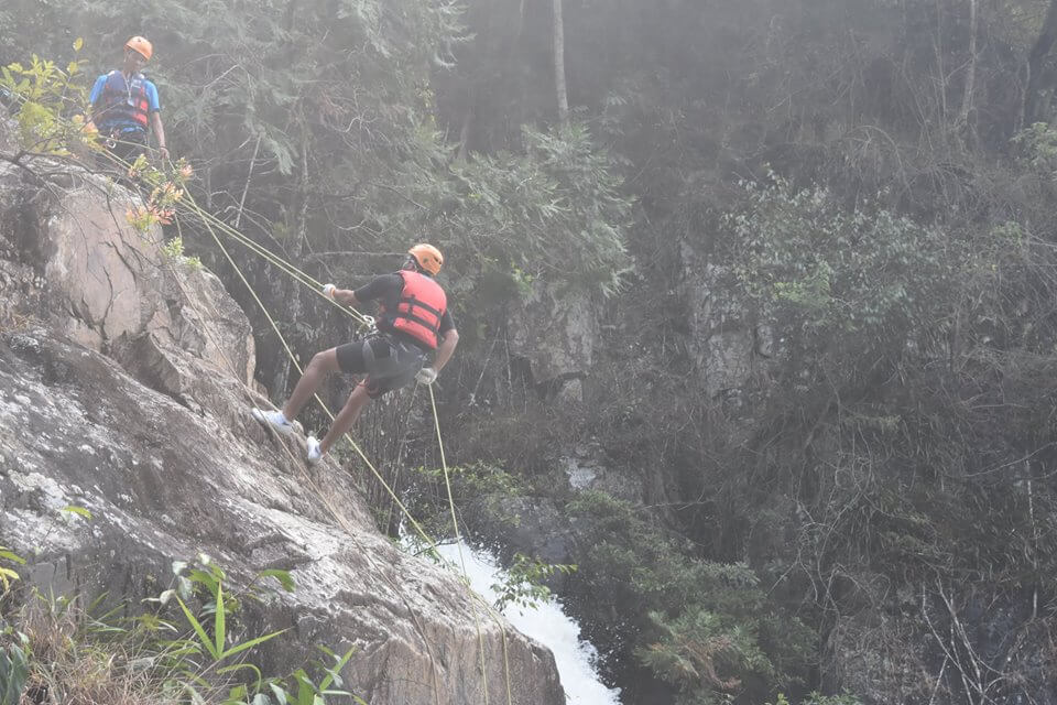 The unlimited challenge with Dalat Canyoning
