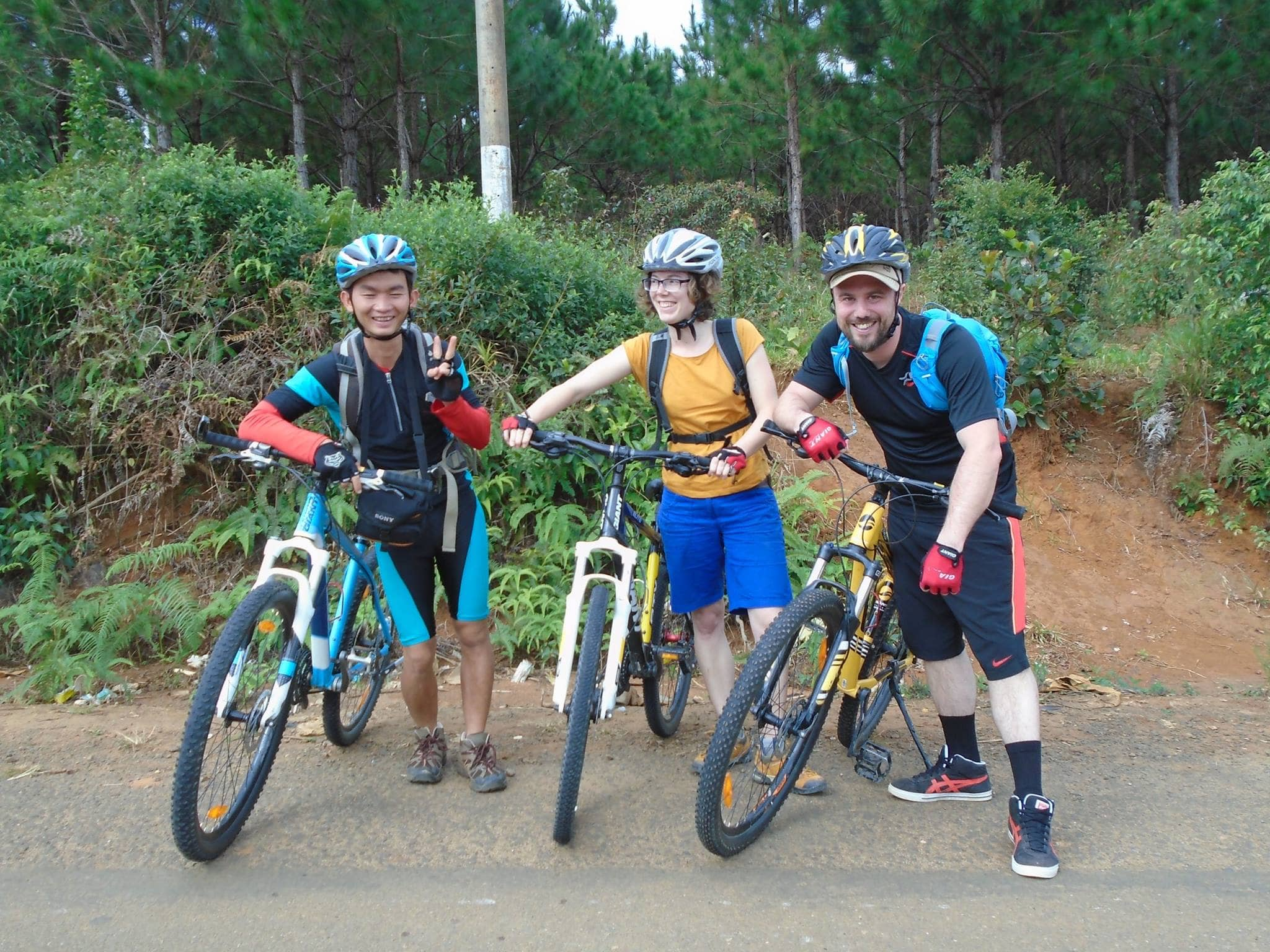 One day bike and raft from Dalat to Nha Trang