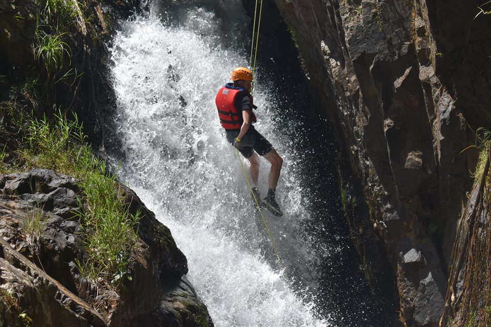 Dalat canyoning – An adventure game of waterfall sliding