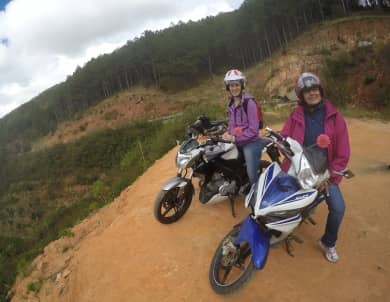 Two Days Dalat Easy Riders to Sai Gon