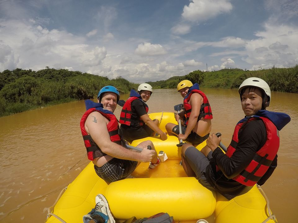 The comfort in a Dalat white water rafting tour