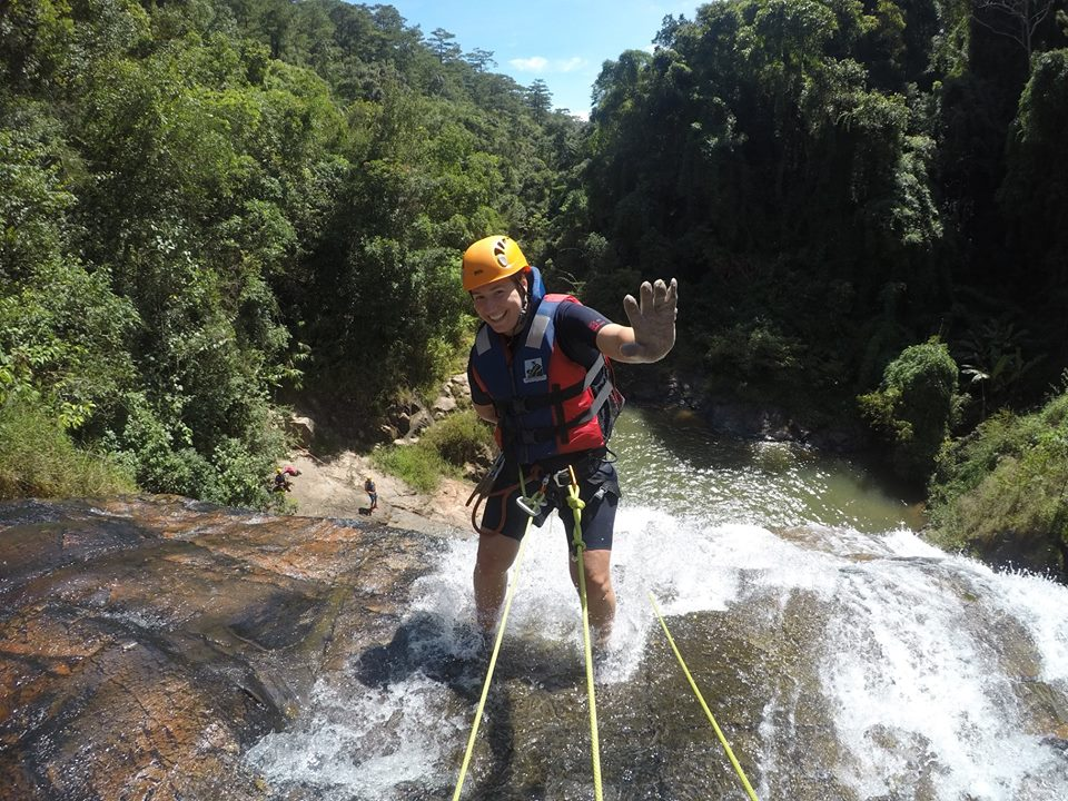 The way of Dalat Canyoning Safety