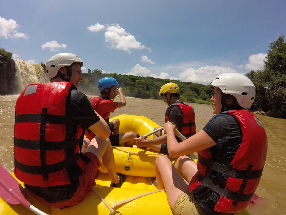 White water rafting in Dalat