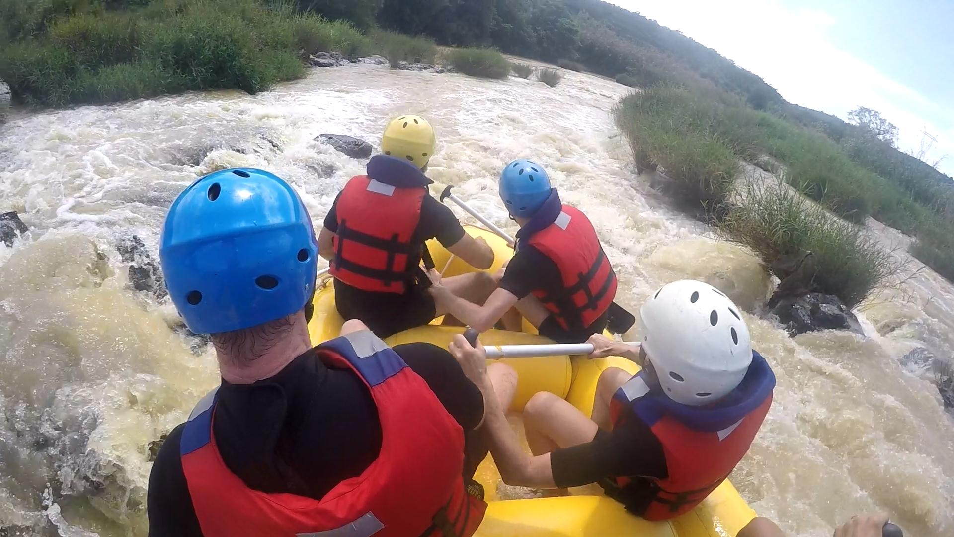 White water rafting tours in Dalat